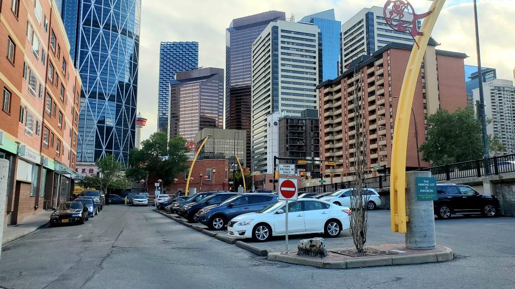A View of CPA Lot 9888 facing Calgary Downtown (Photo: Brian Wong)